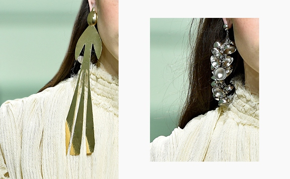 J.W. Anderson Spring 2017 Mismatched Earrings